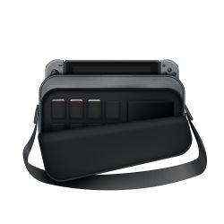 Housse de transport pour nintendo switch - consoles et accessoires - gris