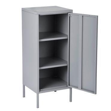 Hamra - casier de rangement 1 porte gris - Vente de ALTOBUY - Conforama