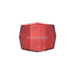 Catadioptre arrière rouge pour hauban de vélo
