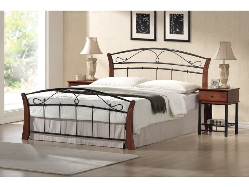 lit adulte 2 personnes moderne 160 x 200 cm  conforama