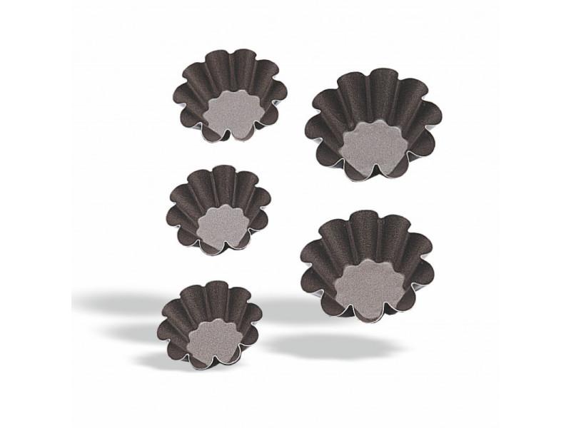 Mini moule à brioche ø 6 à 11 cm - pujadas - acier 6 (ø) cm