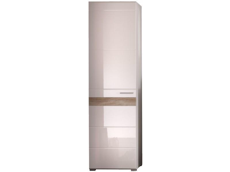 meuble de rangement pour hall d 39 entr e 1 porte conforama. Black Bedroom Furniture Sets. Home Design Ideas