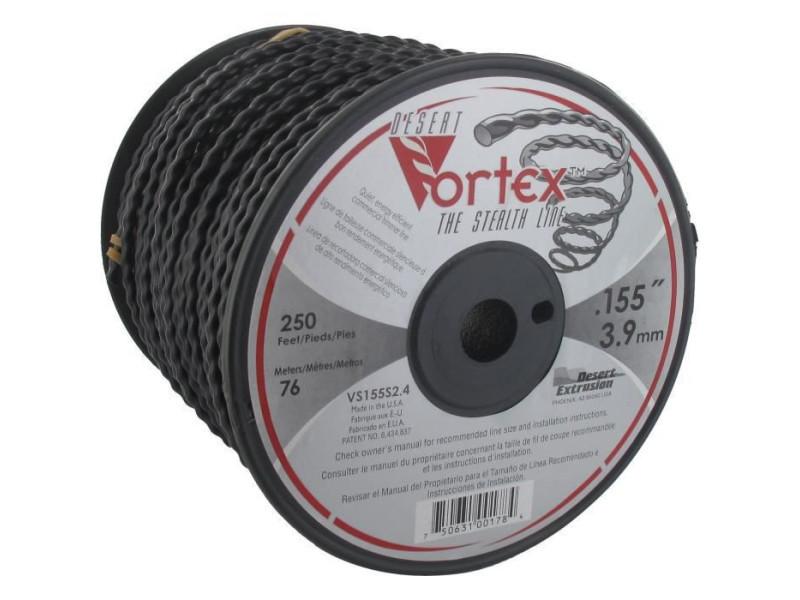 Jardin pratique bobine fil nylon copolymere vortex pour débroussailleuse - ø 3,9 mm - l 76 m JAR3582321394763