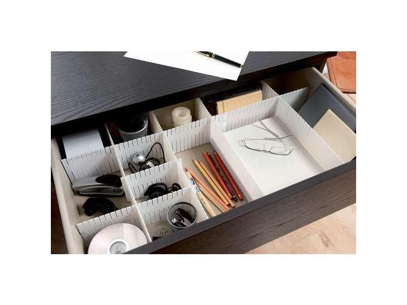organisateur de tiroir free blanc vente de compactor. Black Bedroom Furniture Sets. Home Design Ideas
