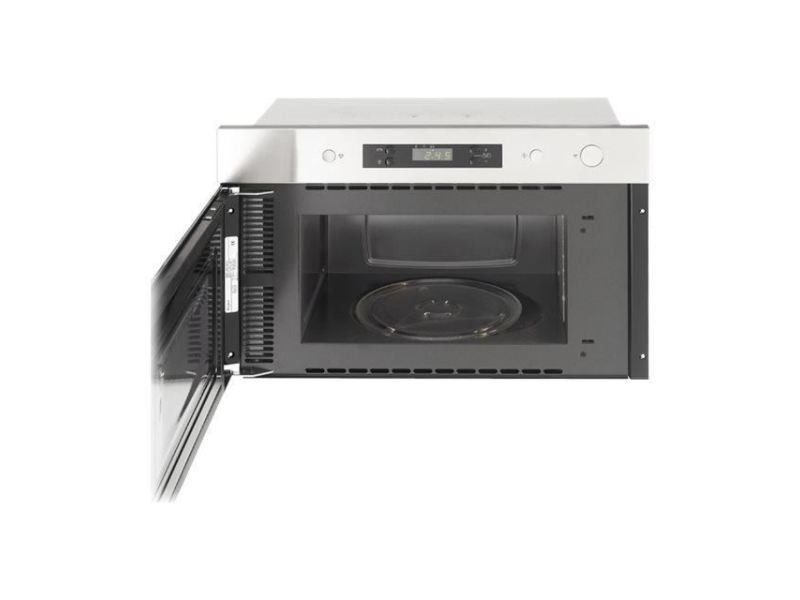 Micro-ondes amw490ix micro-ondes monofonction encastrable - 22 l - 750 w - acier inoxydable