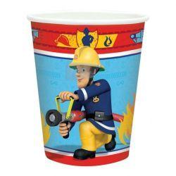 Gobelets sam le pompier x8