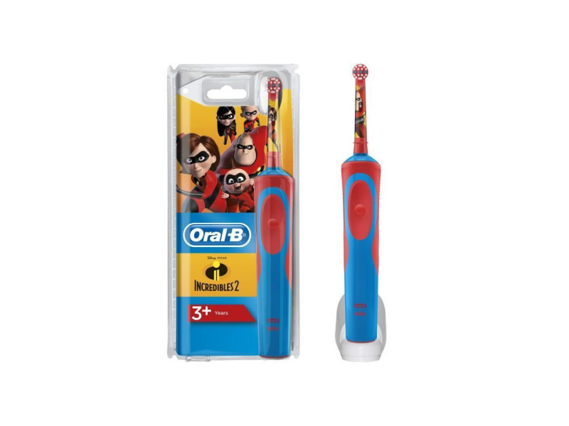 Oral-b kids brosse a dents électrique avec personnages incredibles
