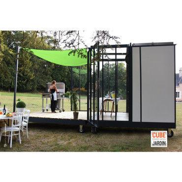 cube et terrasse vente de cube de jardin conforama. Black Bedroom Furniture Sets. Home Design Ideas