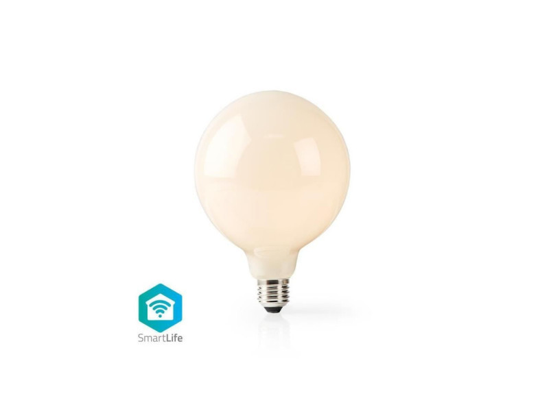 Ampoule led intelligente wi-fi - e27 - 125 mm - 5 w - 500 lm - blanc NED5412810317707