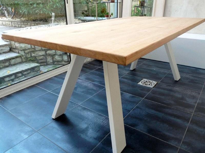 Table treto rouge coquelicot Ta_TRE_Rect240x120_h75_Coq