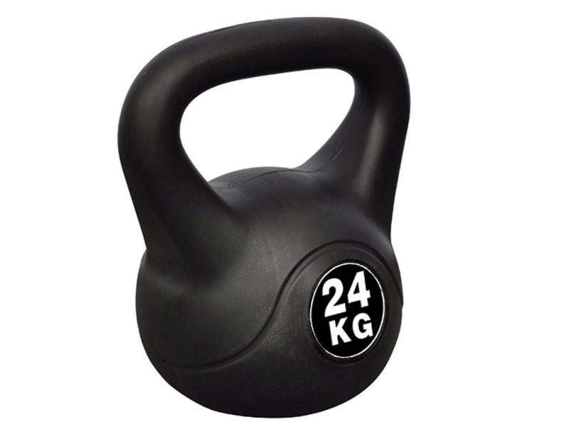 Kettlebell haltère poids musculation haltérophilie exercices gym 24 kg helloshop26 0702048