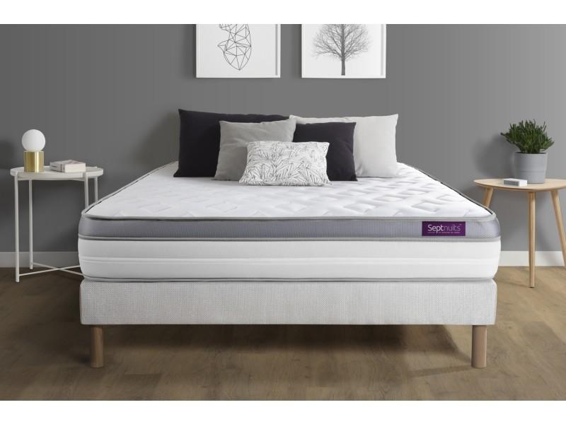 matelas sommier 140x200 memo green mousse m moire de forme 5 zones de confort maxi paisseur. Black Bedroom Furniture Sets. Home Design Ideas