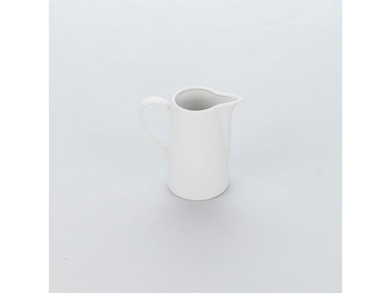 Pichet en porcelaine lisse apulia 320 à 590 ml - lot de 6 - stalgast - 12 cm porcelaine 320 ml 32 cl