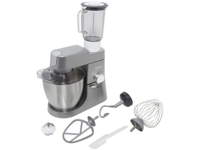 Kenwood robot pâtissier chef xl argent 1200w 1,7l kvl4110s