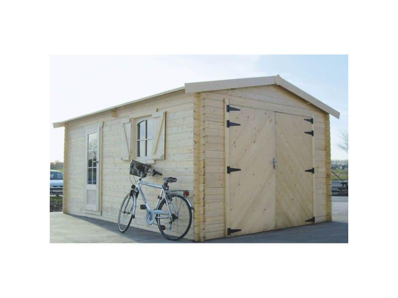 Garage traditional 3580 x 5380 - 40 mm
