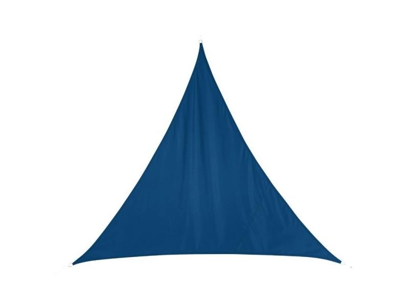 Toile solaire luxe curacao 3x3x3m hespéride bleu indigo - bleu indigo