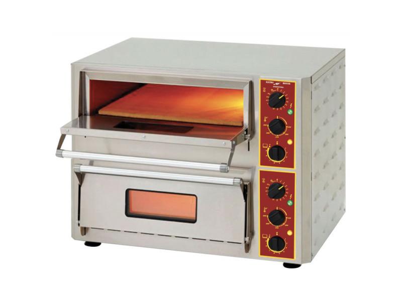 Four à pizza et bruschetta double à infrarouge - 60/80 pizzas/heure -