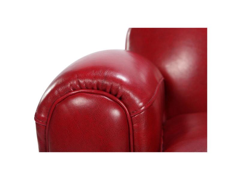 fauteuil club rouge vente de tous les fauteuils conforama. Black Bedroom Furniture Sets. Home Design Ideas