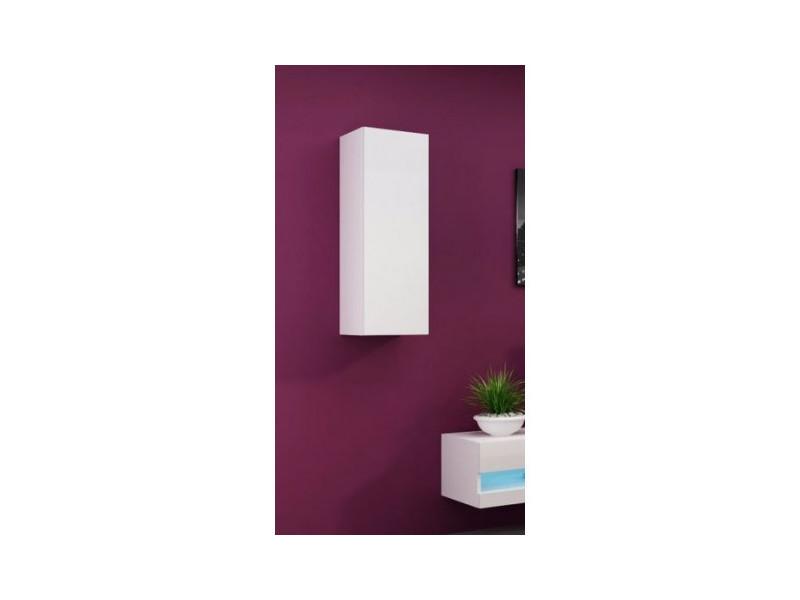 Colonne set, noir ou blanc 90cm - couleur: blanc