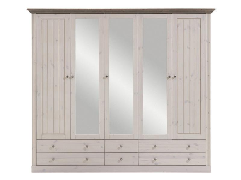 Armoire dressing conforama cheap armoire chambre for Armoire a balai conforama