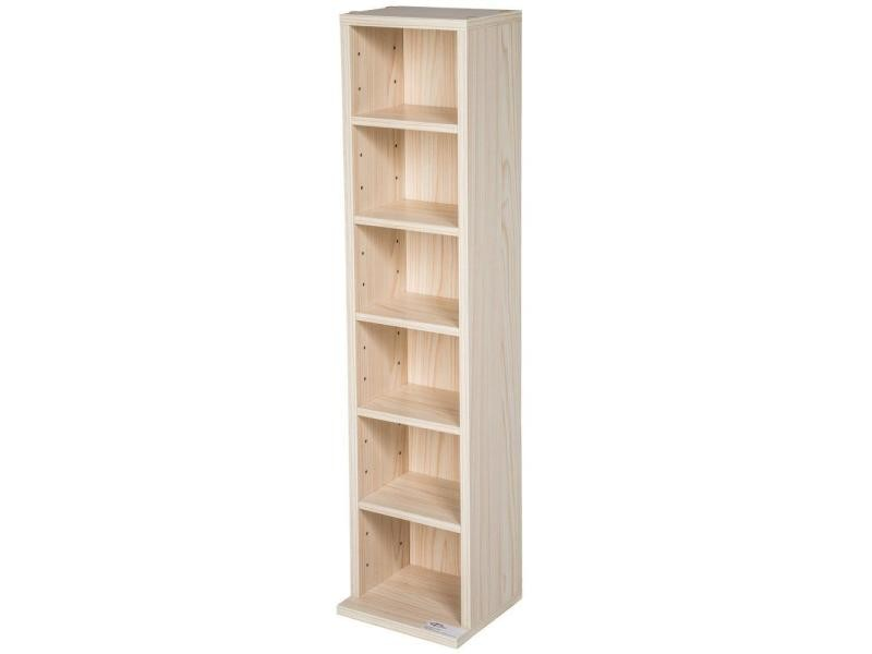 armoire tag re rangement cd dvd meuble de rangement pour 100 cds bois helloshop26 0508022. Black Bedroom Furniture Sets. Home Design Ideas