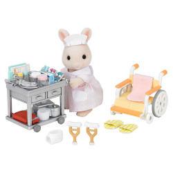 Sylvanian infirmiere et accessoires