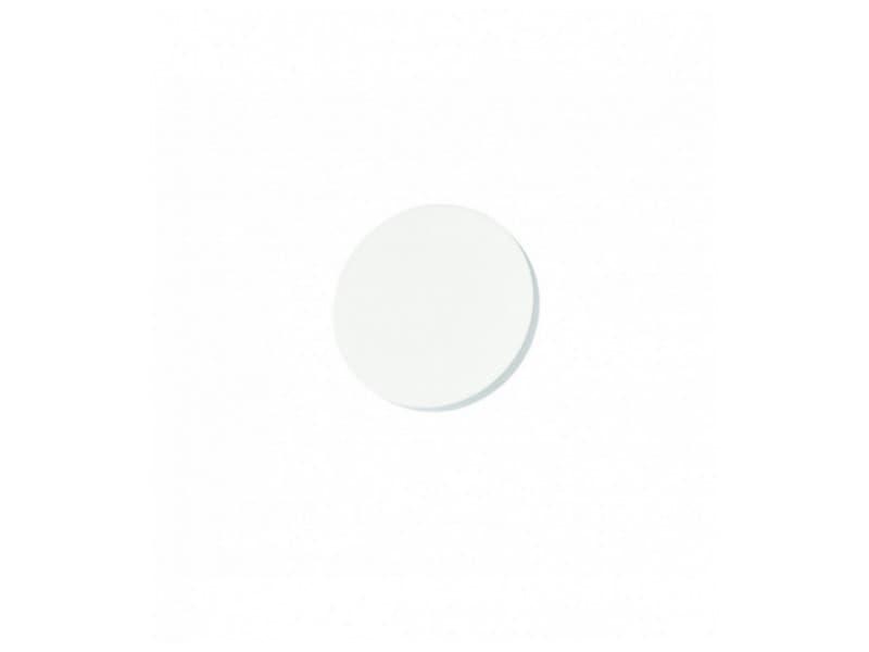 Applique rae plâtre blanc
