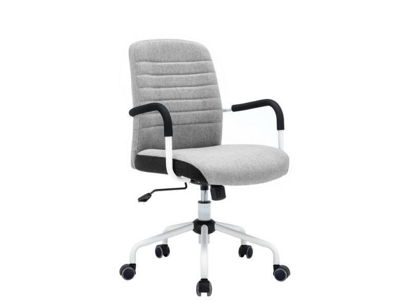 Kayelles flair chaise de bureau design gris 539 flair gris vente