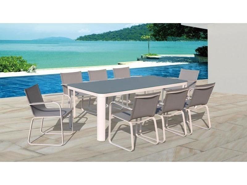 Table De Jardin En Aluminium Niagara Grise Naterial ~ Jsscene.com ...
