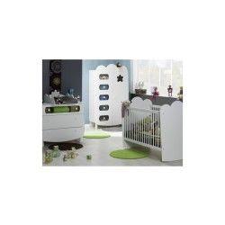 Chambre bébé linéa lit barreaux