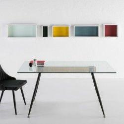 Table Transparent Conforama