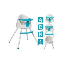 Tutti chaise haute bébé multi-positions 4en1       bleu