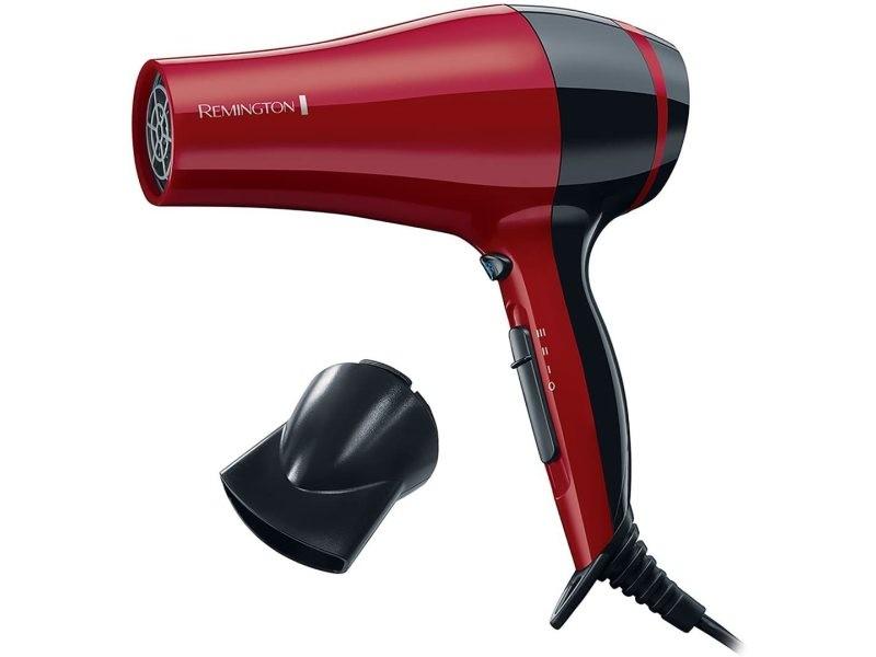 Sèche cheveux pro dry compact 2000w rouge noir