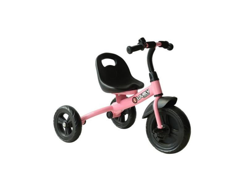 Tricycle enfant france rose