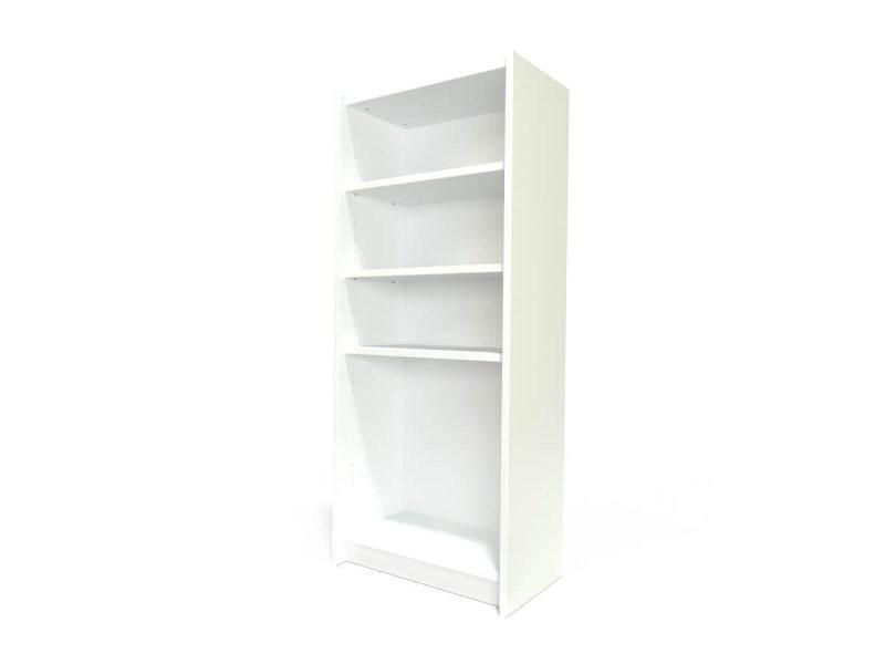 Étagère bibliothèque bois blanc ETABIB-LB