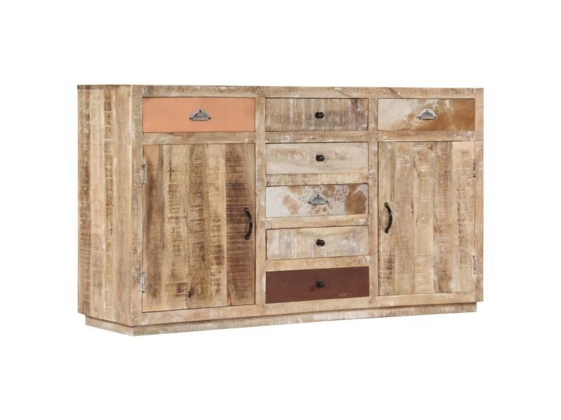 Moderne armoires et meubles de rangement categorie stockholm buffet 150 x 40 x 85 cm bois de manguier massif