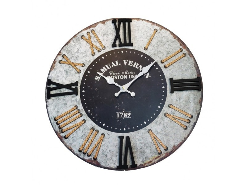 Horloge ronde 60 cm - boston