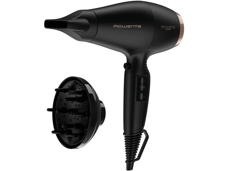 Sèche cheveux ac compact pro 2200w noir cuivre