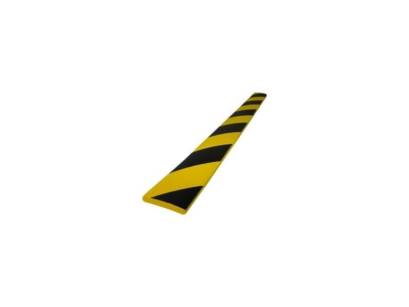 Protection pour coins mousse noir-jaune -30x30x8 -l 70-70 HEX-302696-NOJA