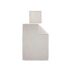 Parure de lit 140x200 cm 100% coton acapulco 2 pièces
