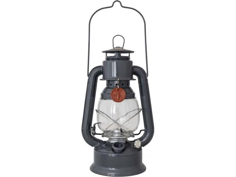 Lampe luciole en métal 30 cm anthracite