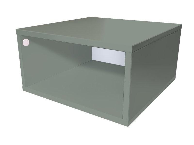 Cube de rangement bois 50x50 cm 50x50 gris CUBE50-G