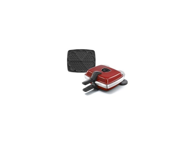 Lagrange gaufrier super 2 antiadhésif - 1000w - 1 jeux de plaques : gaufres coeur - rouge ZMAGCA002298000