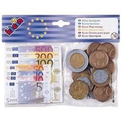 Monnaie factice - sachet euros et billet