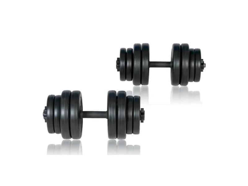 Vidaxl kit haltères 30 kg (lot de 2) 90267