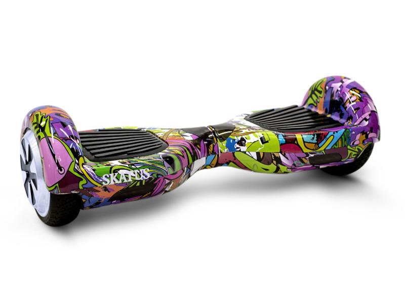 hoverboard skatus 6 5 graffiti le classique purple world. Black Bedroom Furniture Sets. Home Design Ideas