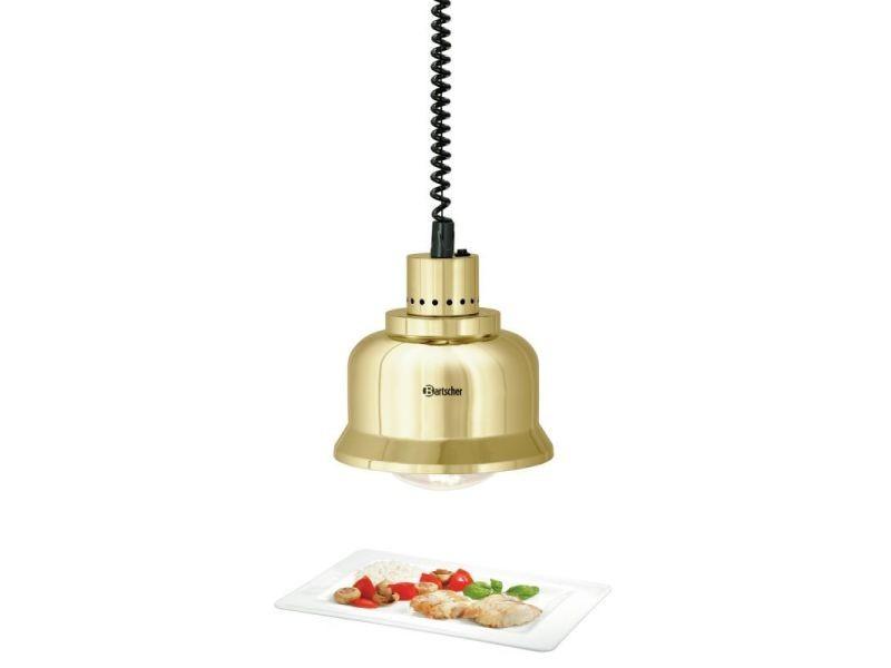 Lampe chauffante - 4 couleurs - bartscher - doré brillant acier 230