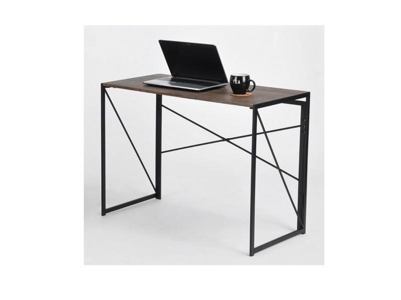 Bureau indus conforama meuble style industriel conforama source d
