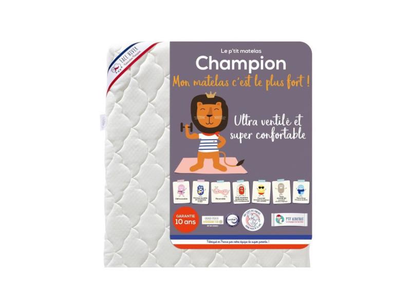 Matelas ultra-ventilé champion - bébé mixte - 70 x 120 cm 83454980150089