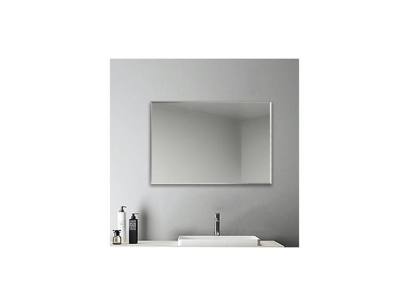 Miroir rectangulaire miroir salle bain miroir 90x60cm miroir mural miroir design